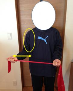回旋筋腱板トレーニング(肩の外旋・内旋)