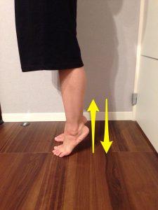 下腿三頭筋トレーニング