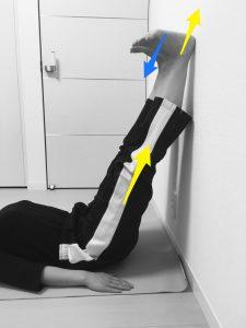 足全体(裏側)の筋膜リリース