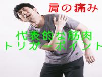 肩の痛みを引き起こす代表的な8つの筋肉とトリガーポイント。