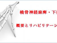 橈骨神経麻痺・下垂手