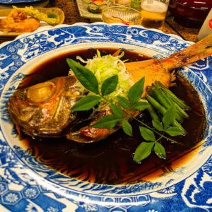 伊豆の金目鯛は美味い